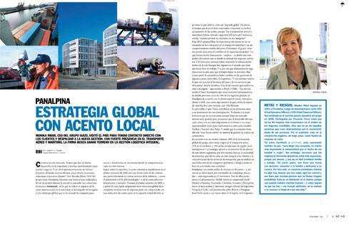 Estrategia global con acento local